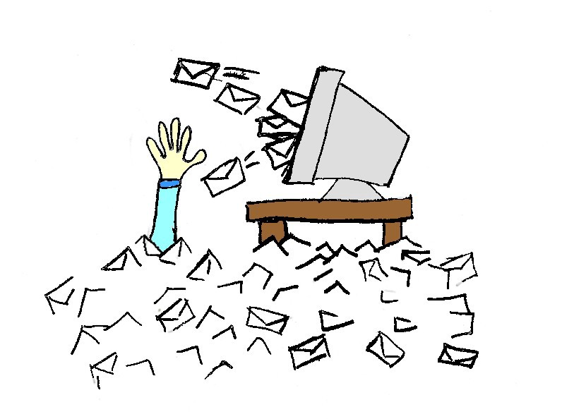 Clean-messy-emails-list