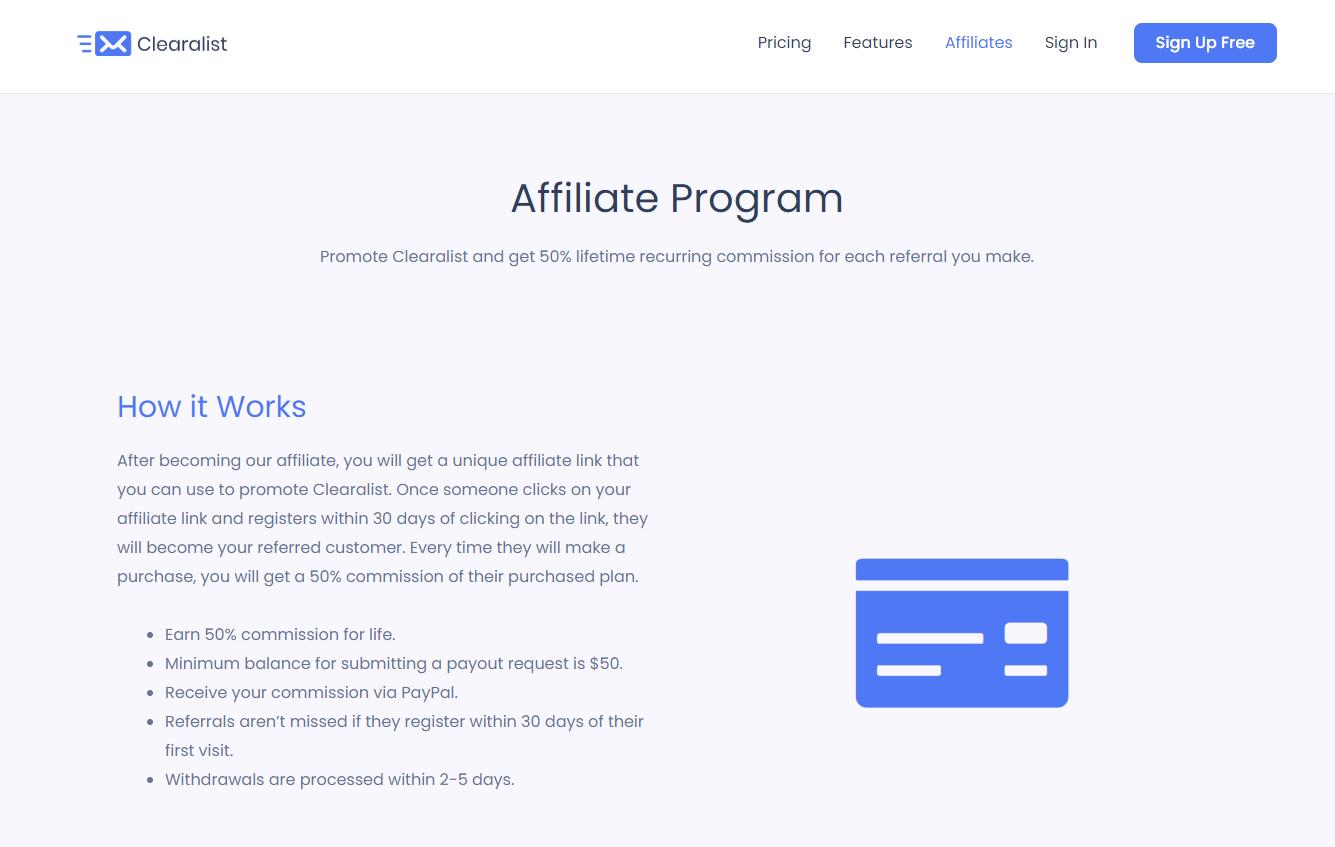 Clearalist-Affiliate-Program
