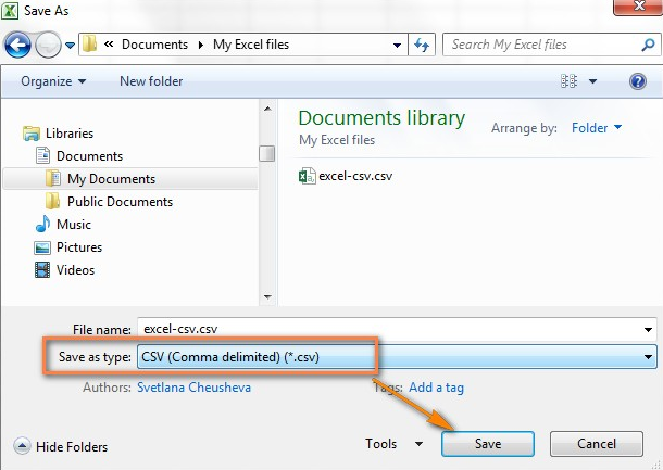Excel-convert-to-CSV-Clearalist