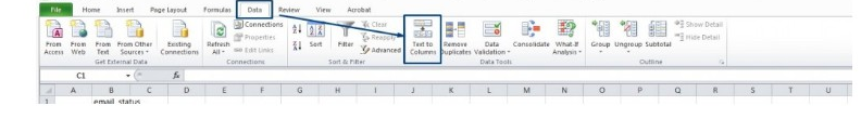 Opening a CSV in Excel