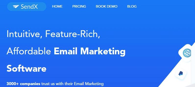 SendX Email Marketing Software