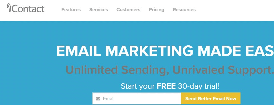 iContact Email Marketing Services
