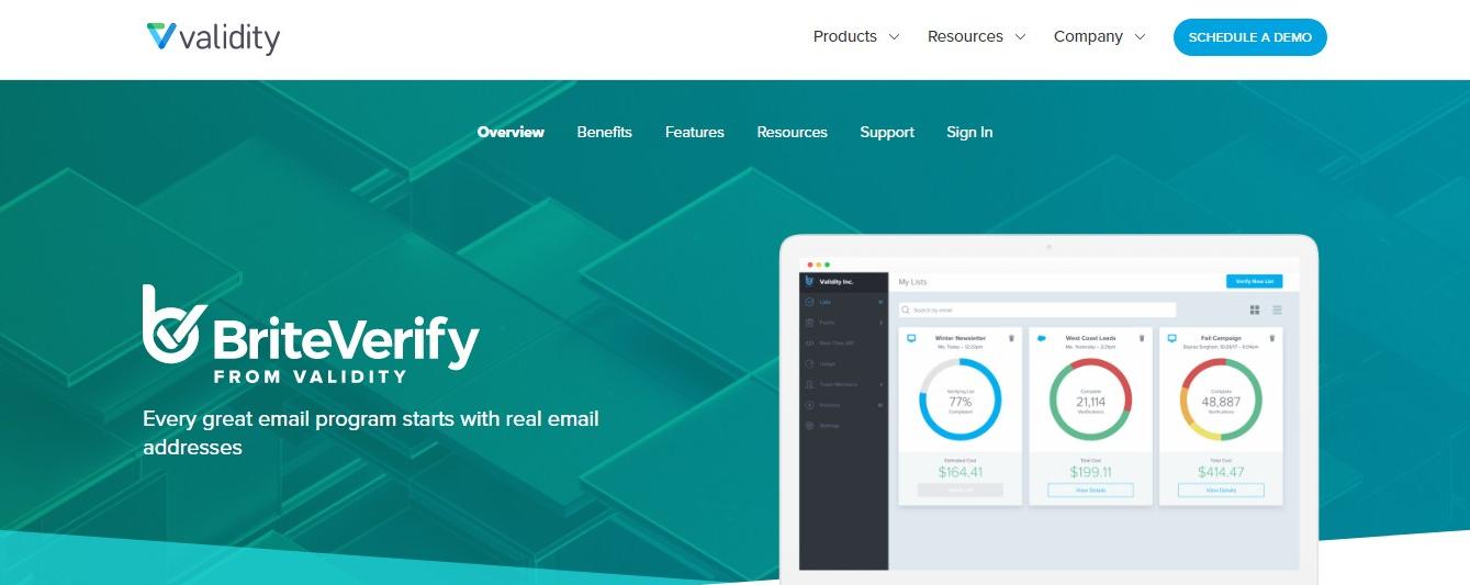 validity-briteverify-email-checker